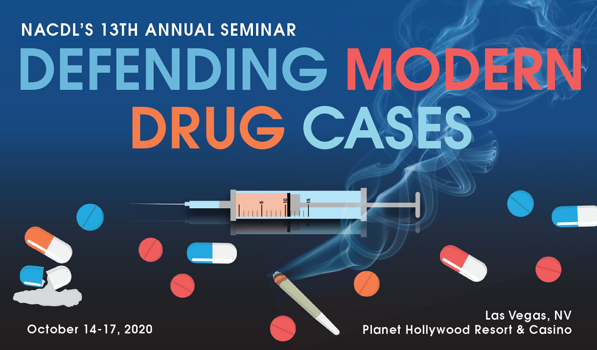 2020 Defending Modern Drug Cases Seminar Cover