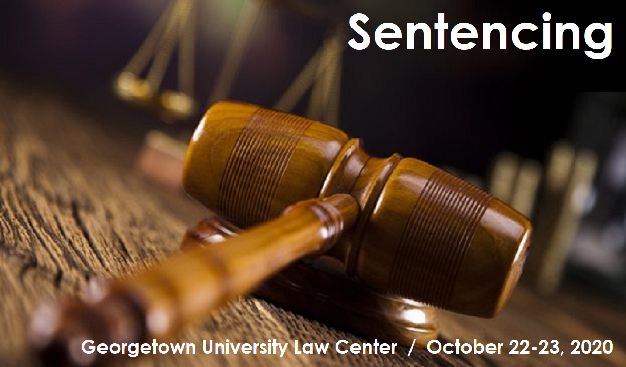 2020 Presidential Summit & Seminar on Sentencing Cover
