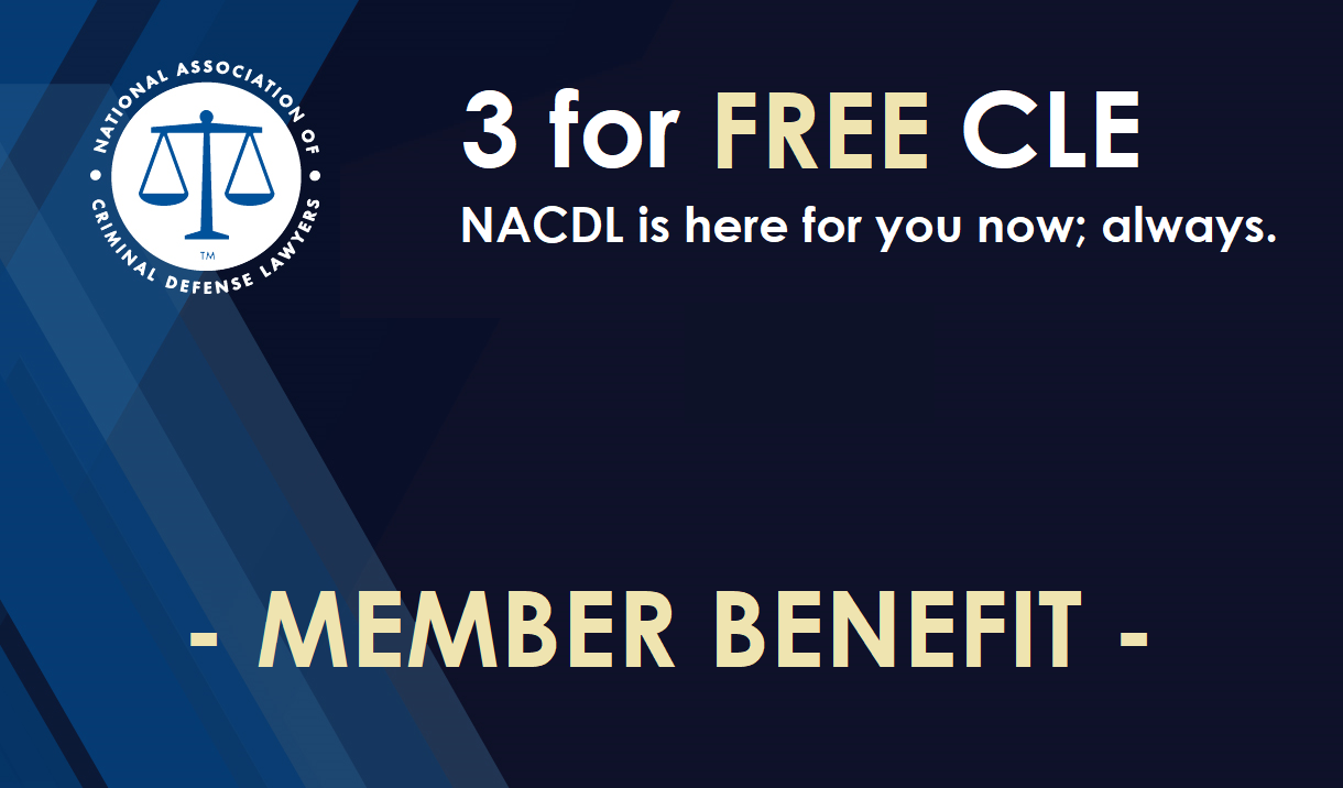 Article 3 for FREE CLE (Members Only)