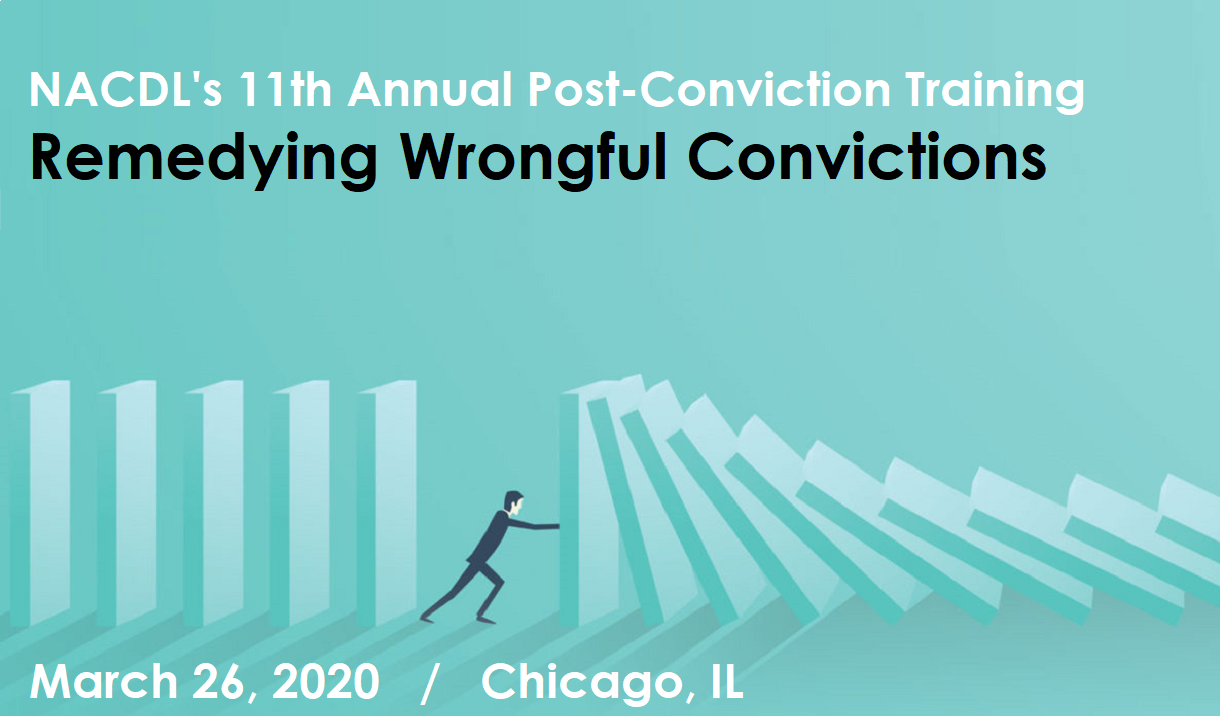 Article 2020 NACDL's 11th Annual Post-Conviction Training
