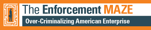 Enforcement Maze report banner