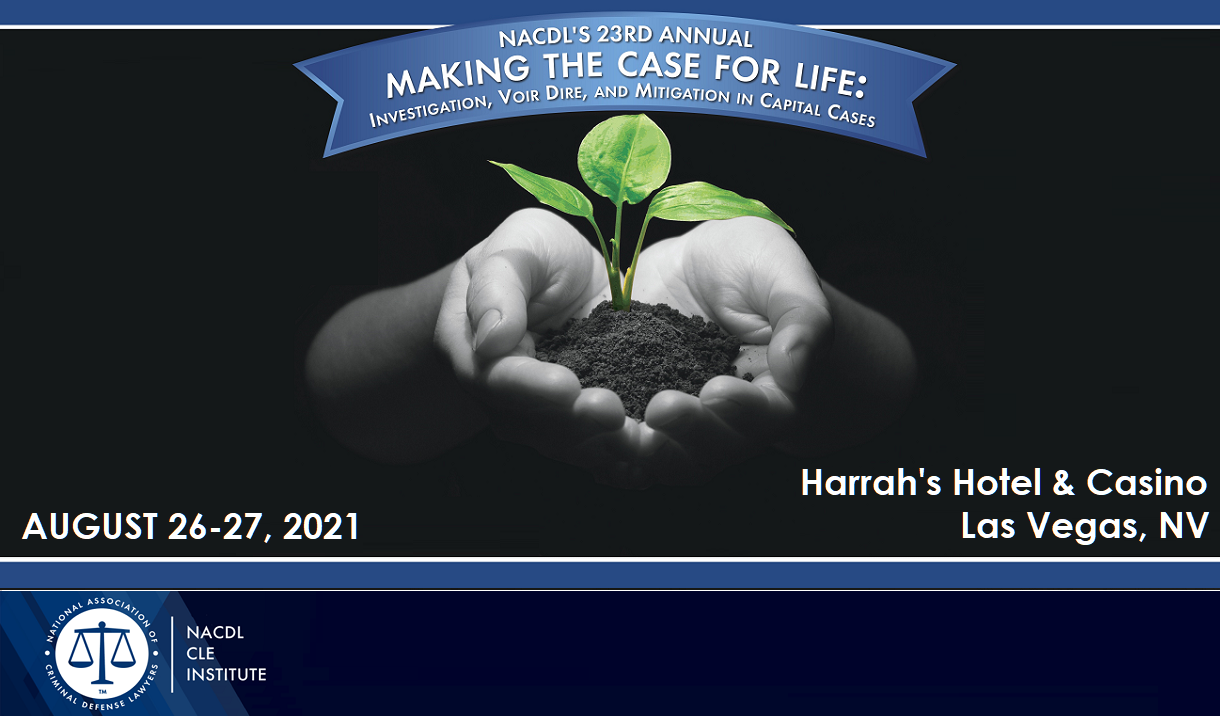Article 2021 Making the Case for Life Seminar