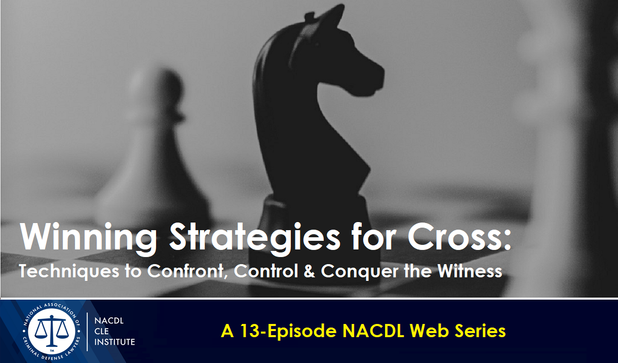 Winning Strategies for Cross - A 13-Episode Web Series Cover